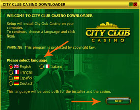 city club casino play for fun
