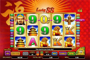 play lucky 88 for free