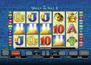 Play Aristocrat's Queen of the Nile 2 Slot Game