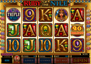 free online slot machines queen of the nile